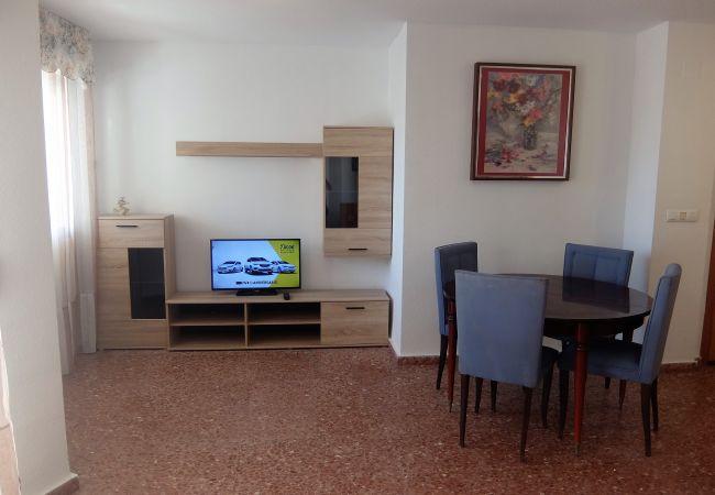 Apartamento en Grao de Gandia - LAS AMERICAS II 4ª - 9º - 17ª (ALQUILER SOLO A FAM