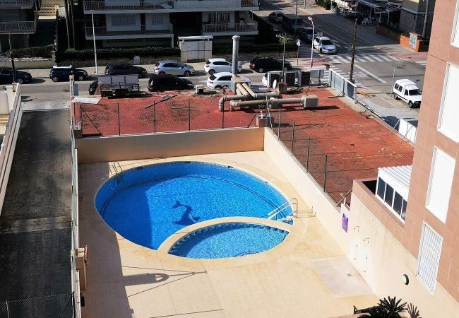 Apartment in Grao de Gandia - CAPRIMAR 1ª - 5º - 13ª (ALQUILER SOLO A FAMILIAS)