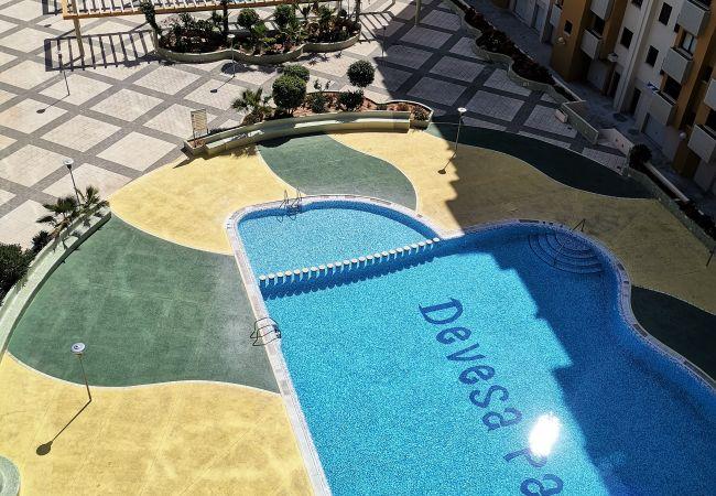Apartment in Grao de Gandia - DEVESA PARK ESC.6 - 8º - 15ª (ALQUILER SOLO A FAMI