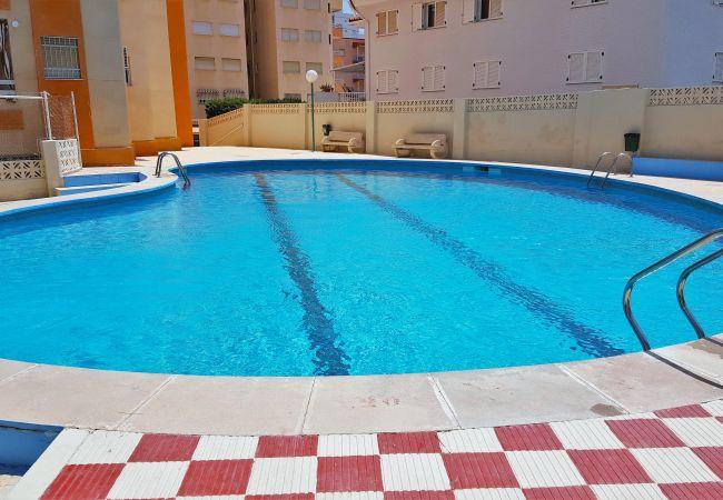 Apartment in Grao de Gandia - MIKONOS I ESC1 - 3º - 6ª (ALQUILER SOLO A FAMILIAS